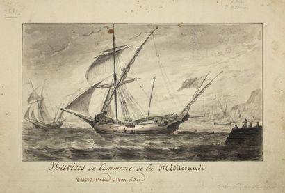 PIERRE OZANNE (BREST 1737-1813)Navire de...