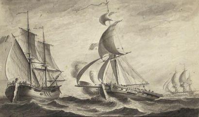 PIERRE OZANNE (BREST 1737-1813) MarinePlume...