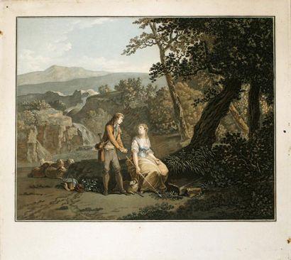 CHARLES-MELCHIOR DESCOURTIS(1753-1820) La...
