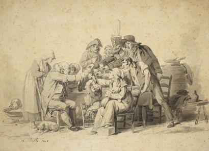 LOUIS LÉOPOLD BOILLY(LA BASSÉE 1761 – PARIS...