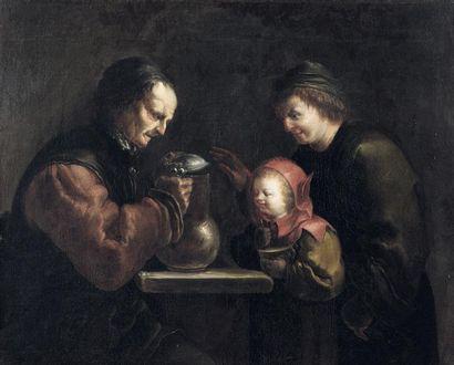 ATTRIBUÉ À JAN VAN DE VENNE (AVANT 1616-BRUXELLES,...