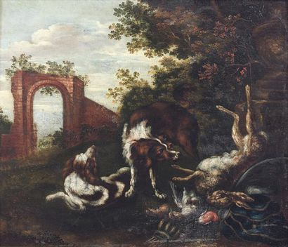 ADRIAEN DE GRYEF (ANVERS, 1670 - BRUXELLES,...