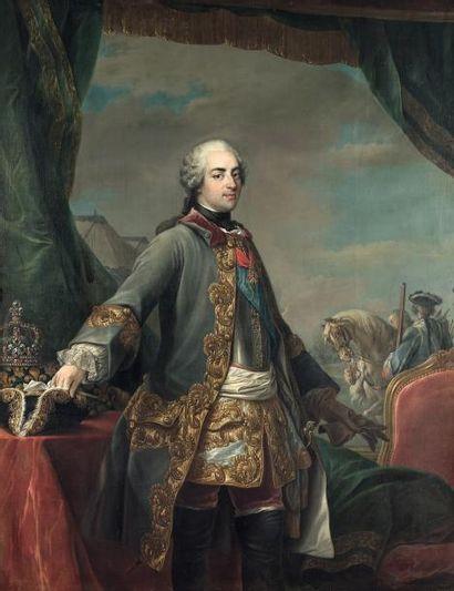 CARLE VAN LOO(NICE, 1705 - PARIS, 1765) Portrait...