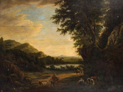 ECOLE HOLLANDAISE VERS 1800, SUIVEUR DE WILLEM...