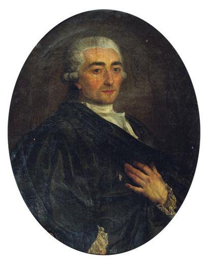 PIERRE LACOUR (BORDEAUX 1745-1814)Portrait...
