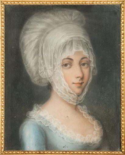 ECOLE FRANCAISE DU XVIIIèmePortraits de femme...