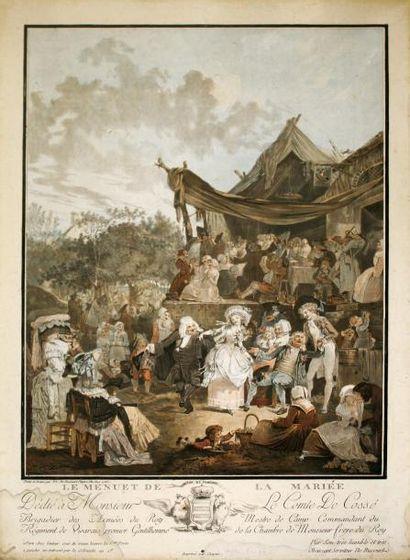 PHILIBERT-LOUIS DEBUCOURT (1755-1832)Le menuet...