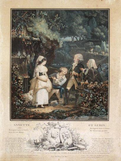 PHILIBERT-LOUIS DEBUCOURT (1755-1832)La main...