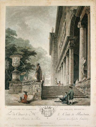 JEAN-FRANCOIS JANINET (1752-1814)Colonade...