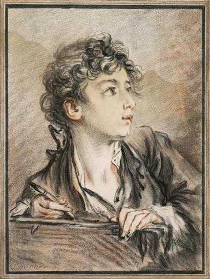 GILLES-ANTOINE DEMARTEAU (1750-1802)Jeune...