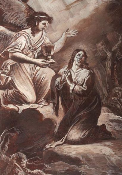 ECOLE FRANCAISE NéoclassiqueScène religieuse...