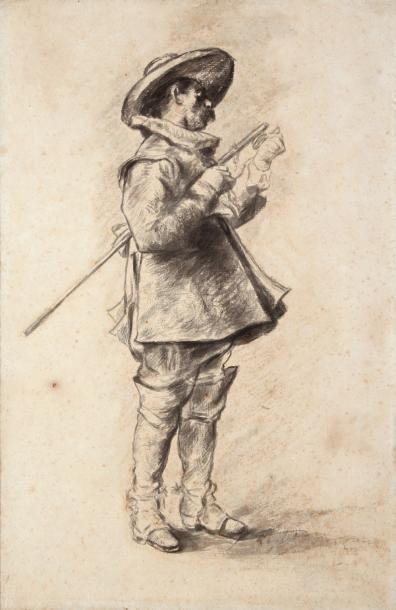 FERDINAND ROYBET (1840-1920)Cavalier, Louis...