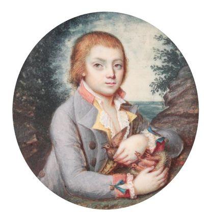Nicolas CHALOTPortrait d'un jeune garçon...