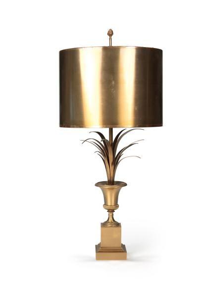 MAISON CHARLES Lampe de table modèle «Vase»,...