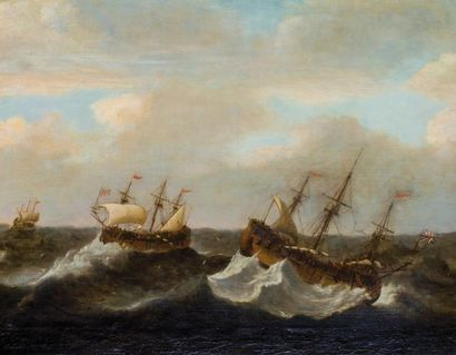 ECOLE HOLLANDAISE VERS 1700,Suiveur de Willem...