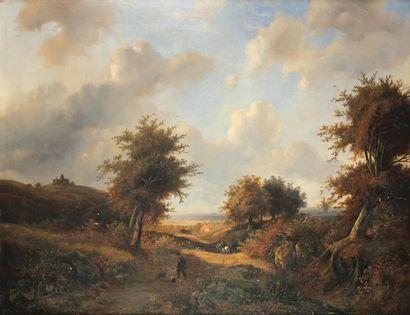FRANCISCUS ANTONIUS DE HAAN (1823-1873)Chemin...