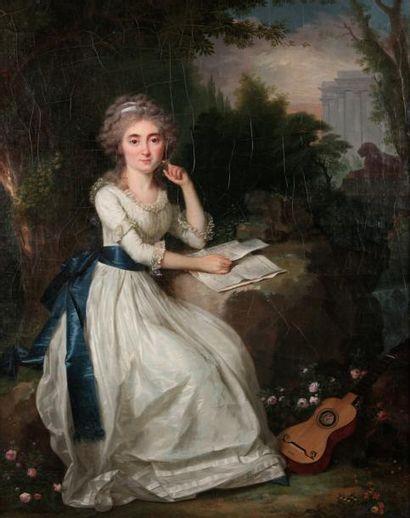 Attribué à Claude NAIGEON (1753-1832)Jeune...