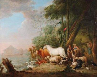 ECOLE ALLEMANDE Du XVIIIème,suiveur de Lambert...