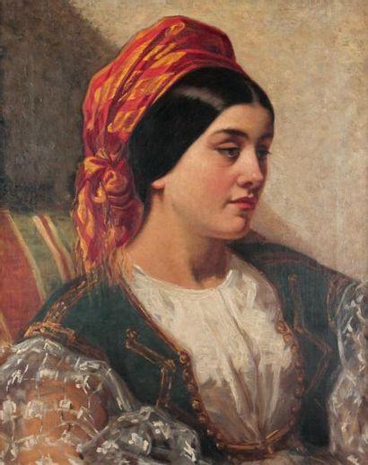Georges HAYTER (1792-1871)Jeune italienne...