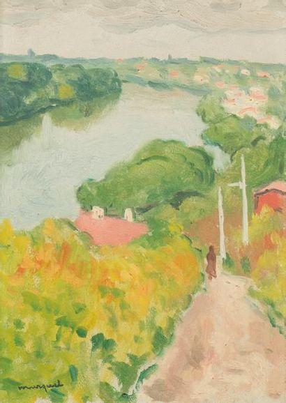 Albert MARQUET (1875-1947) La Seine vue de...