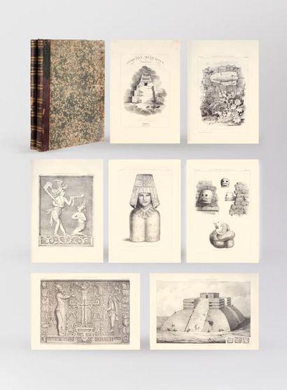 DUPAIX (Guillaume) Antiquités mexicaines....