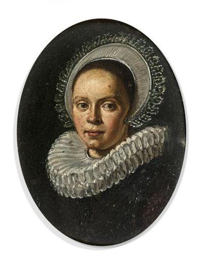 Attribué à Pieter CODDE (1599-1678)  Portrait...