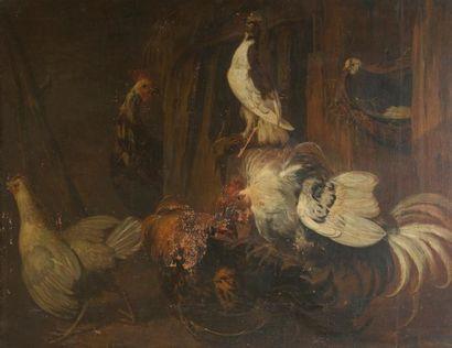 Attribué à Jacobus VICTORS (1640 - 1705)...