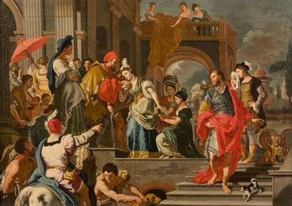 Ecole NAPOLITAINE du XVIIIème siècle, suiveur...