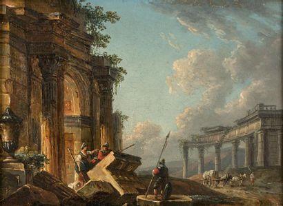 Attribué à Pierre Antoine DEMACHY (1723 -...
