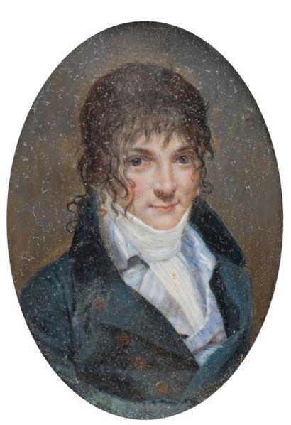 Pierre Edouard DAGOTY ( 1775-1871)  Portrait...
