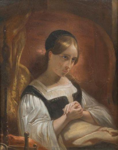 D'APRÈS HENRY SCHEFFER (1798-1862)  Marguerite...