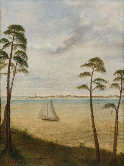 H. MONTAUDON (XIXème siècle)  La Pointe du...