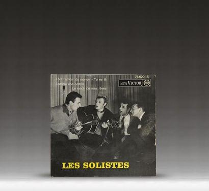 Les solistes  4 titres – RCA Victor 76.620...