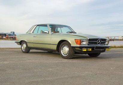 MERCEDES Coupé 2 portes type 280SLC du 22/11/1978,...