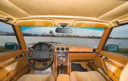 MERCEDES Coupé 2 portes type 280SLC du 22/11/1978, n° de série 10702212006061 de...