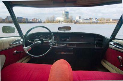 CITROEN Berline 4 portes type DSpécial du 18/07/1974, n° de série 09FD4274 de couleur...