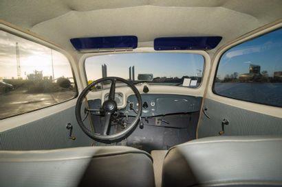 CITROEN Berline 4 portes type 11BL traction avant de 1953, n° de série 621268 de...