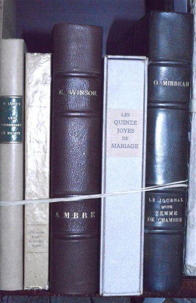 Curiosa - Littérature: Réunion d'ouvrages...