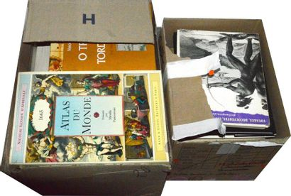 Varia, catalogues, références (2 cartons...