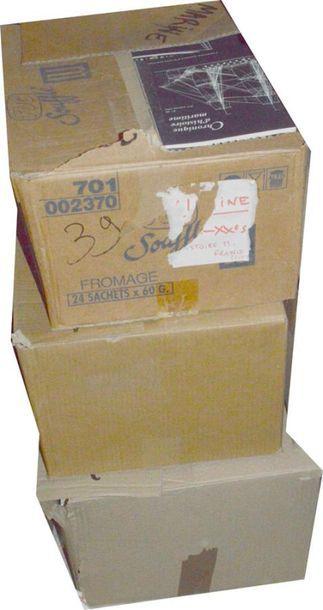 MARINE: 3 cartons de livres divers XIXe...
