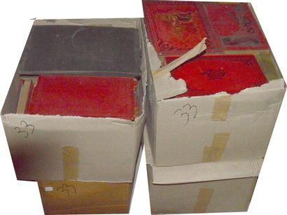 Littérature: divers ouvrages reliés XIX,...