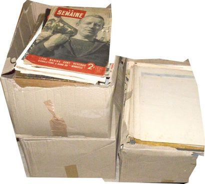 Varia, revues diverses, gravures, etc. (2...