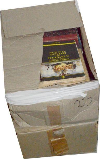 Histoire des voyages: 2 cartons d'ouvrages...