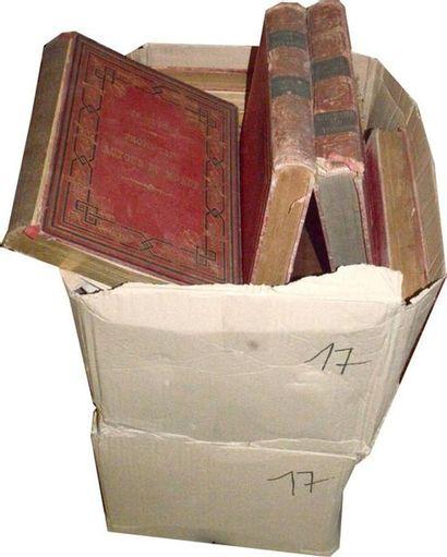 Journal des voyages: 3 cartons (40 vol....
