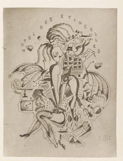 Pierre MOLINIER 1900-1976 Reproduction du...