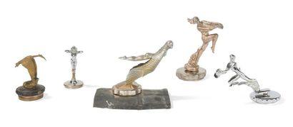 Mascotte«Faune aux cymbales» signé Elgé...