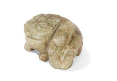 Animal en jade Chine, XXème siècle Représenté...