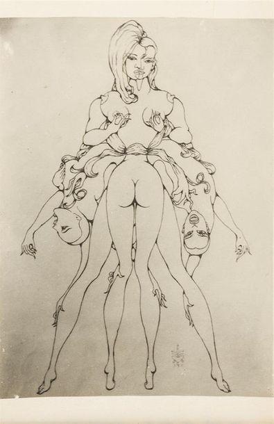 Pierre MOLINIER 1900-1976 Reproduction d'un...
