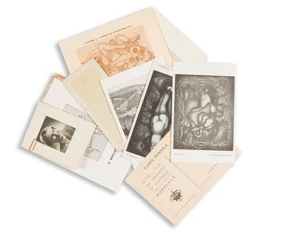 Pierre MOLINIER 1900-1976 Ensemble de documents...