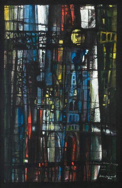 Max INGRAND (1906-1969) Maquette pour un...